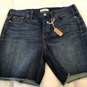 NWT Madewell Campground Shorts